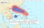 Tin bão gần và áp thấp nhiệt đới trên Biển Đông