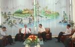 Cục trưởng Lại Xuân Thanh tiếp Đoàn Cục Hàng không dân dụng Lào
