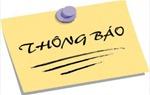 Thông báo kết quả chấm thi Kỳ thi tuyển công chức năm 2014 của Cục Hàng không Việt Nam