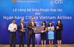 Vietnam Airlines hợp tác chăm sóc khách hàng cùng Citi Việt Nam