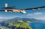 Máy bay năng lượng mặt trời bay qua biển thành công