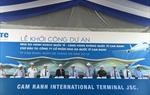 Khởi công xây dựng dự án Nhà ga hành khách quốc tế - CHKQT Cam Ranh