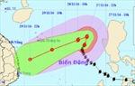 Công điện ứng phó cơn bão Tokage trên biển Đông