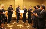 Bộ trưởng Trương Quang Nghĩa làm việc với Chủ tịch ICAO Benard Olumuyiwa Aliu