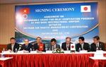 Ký Thỏa thuận tài trợ giữa Tổng công ty Quản lý bay Việt Nam với Công ty Japan Radio Co., Ltd Nhật Bản