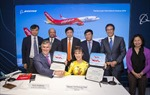 Boeing và Vietjet ký hợp đồng 100 máy bay
