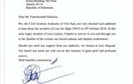 Cục HKVN gửi thư chia buồn tai nạn máy bay Lion Air