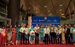 Chuyến bay quốc tế đầu tiên của hàng không Việt Nam đến CHKQT Vân Đồn