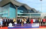 Cảng hàng không quốc tế Cam Ranh đón khách du lịch thứ 3,5 triệu đến Khánh Hòa