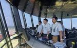 Cục trưởng Cục Hàng không  Việt Nam Đinh Việt Thắng đột xuất thị sát Nội Bài