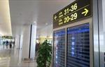 Cảng hàng không quốc tế Nội Bài ngưng phát thanh thông tin chuyến bay