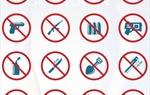Danh mục vật phẩm cấm mang vào khu vực hạn chế và cấm mang lên tàu bay