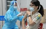 2.500 nhân viên tuyến đầu của Cảng HKQT Nội Bài được tiêm vaccine phòng bệnh Covid-19.