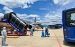 Hãng hàng không Pacific Airlines chuyên chở người dân tỉnh Quảng Nam trở về quê