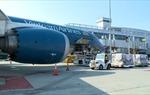 Chuyến bay VN9 do Vietnam Airlines khai thác từ San Francisco (Mỹ) đã hạ cánh tại sân bay Nội Bài
