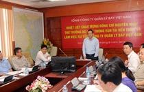 Thứ trưởng Bộ GTVT Nguyễn Nhật làm việc với VATM