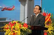 Phát biểu của Phó Thủ tướng Hoàng Trung Hải tại lễ kỷ niệm 60 năm  ngày thành lập Ngành Hàng không dân dụng Việt Nam