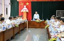 Bộ trưởng Trương Quang Nghĩa làm việc với ngành Hàng không Việt Nam