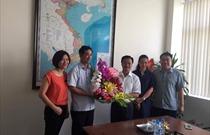 Cục HKVN chúc mừng Báo GTVT và Tạp chí GTVT