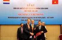 Cục Hàng không Việt Nam và Hà Lan ký Bản ghi nhớ hợp tác