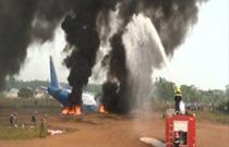 Diễn tập vận hành cơ chế và tìm kiếm cứu nạn hàng không