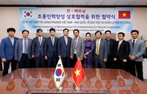 Ký kết Biên bản ghi nhớ về hợp tác đào tạo phi công với Hàn Quốc