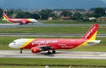 Thông cáo báo chí của Cục Hàng không Việt Nam về việc Công ty cổ phần hàng không Vietjet  tổ chức sự kiện trên chuyến bay VJ7269 ngày 28 tháng 01 năm 2018