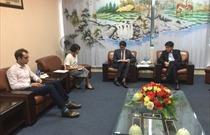 Cục trưởng Cục HKVN tiếp Phó Tham tán Kinh tế Cộng hòa Pháp