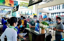 Yêu cầu hành khách thực hiện nghiêm túc việc khai báo điện tử trước chuyến bay