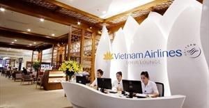 Vietnam Airlines khai trương phòng khách Bông Sen tại CHKQT Nội Bài