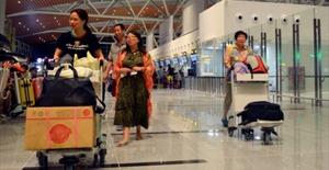 Vietnam Airlines và Jestar Pacific phục vụ khách quốc tế ở nhà ga mới sân bay Đà Nẵng