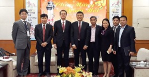 Chủ tịch Hội đồng thành viên VATM tiếp xã giao Tổng Giám đốc Cơ quan khí tượng Nhật Bản