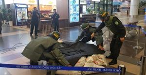Diễn tập khẩn nguy sân bay đối phó với hành vi can thiệp bất hợp pháp