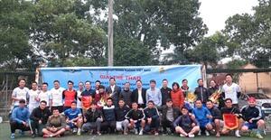 Tổ chức giải thể thao chào mừng kỷ niệm ngày thành lập Ngành
