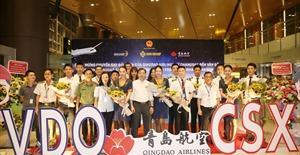 Cảng hàng không quốc tế Vân Đồn khai trương đường bay quốc tế thứ 3  Hồ Nam – Vân Đồn