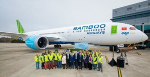Bamboo Airways đón nhận tàu bay Boeing 787-9 Dreamliner đầu tiên