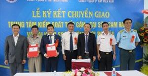 Lễ ký kết Trung tâm chuyển soát tiếp cận sân bay Cam Ranh và Đài kiểm soát không lưu Tuy Hòa
