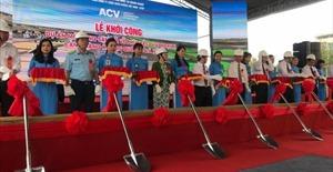 Khởi công Dự án mở rộng sân đỗ máy bay Cảng hàng không quốc tế Đà Nẵng