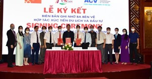 Cảng HKQT Phú Bài ký kết thỏa thuận hợp tác, xúc tiến mở đường bay thẳng Hàn Quốc - Thừa Thiên Huế