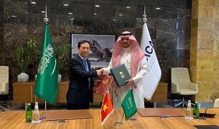 Ký chính thức Hiệp định Vận chuyển Hàng không Việt Nam và Ả rập Xê-út